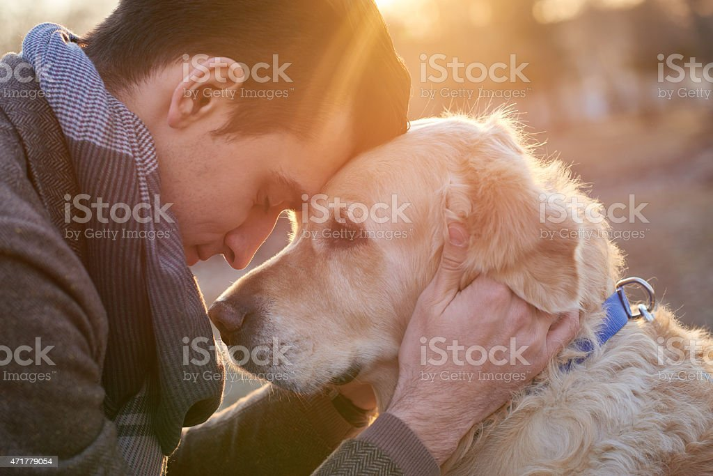 True friendship stock photo