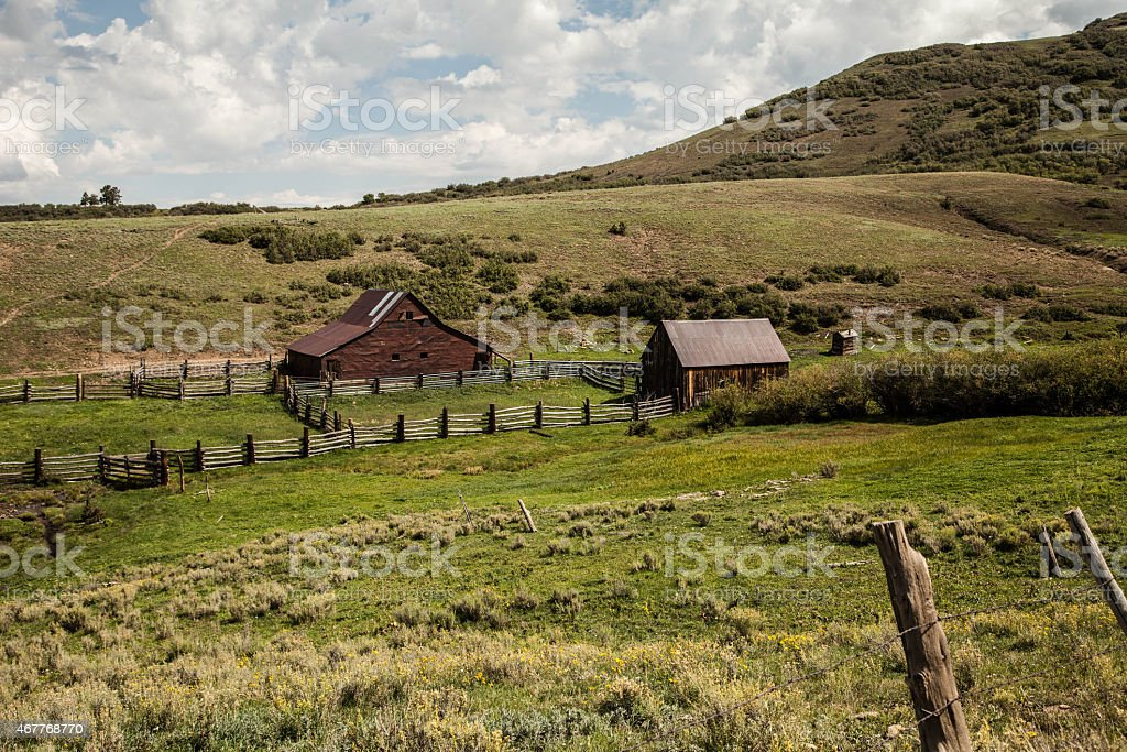 True Grit Ranch stock photo