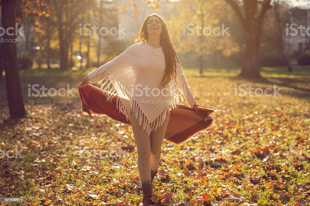 True happiness stock photo