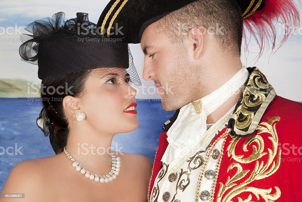 True love does not exist only in fairy tales. stock photo