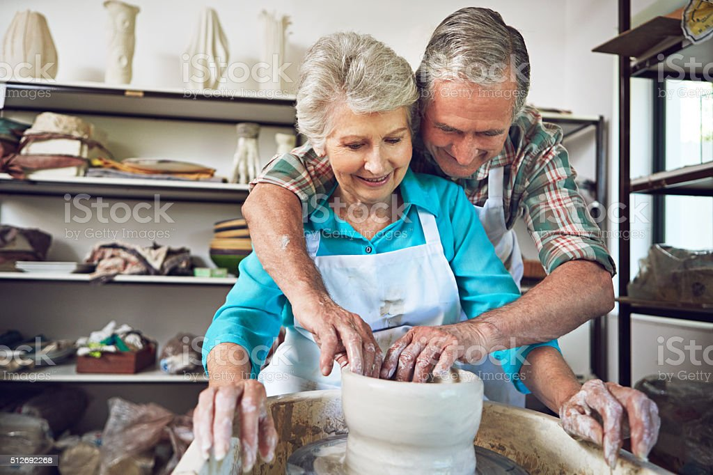 True love never grows old stock photo