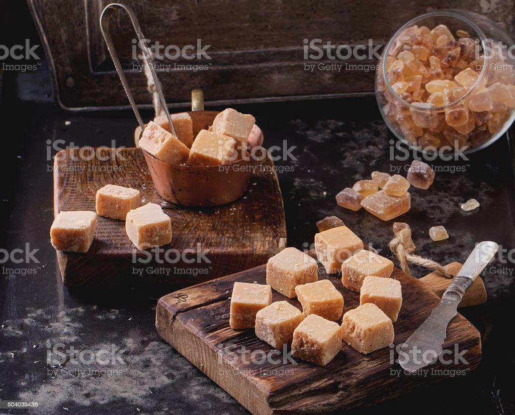 Truffles and Fudge stock photo