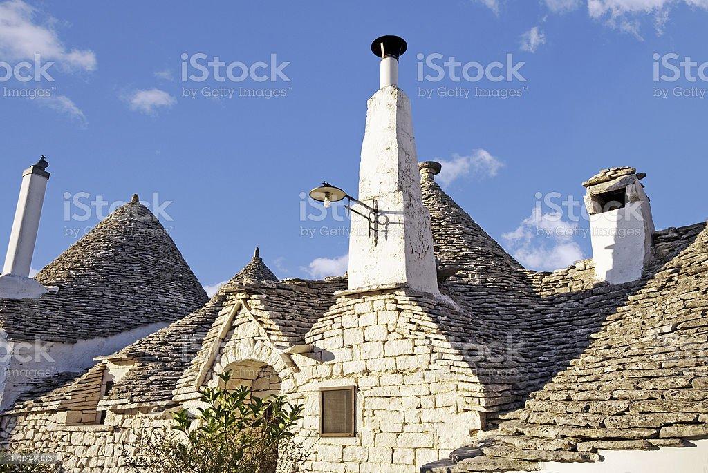 Trulli, Alberobello, Puglia stock photo