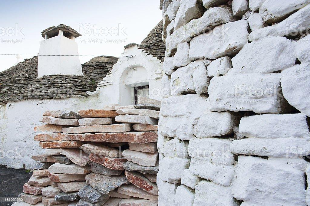 Trulli house, Alberobello (Bari) - Southern Italy royalty-free stock photo