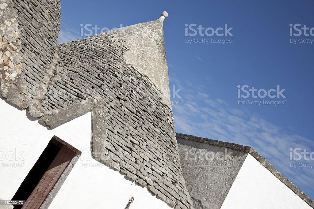 Trulli house stock photo