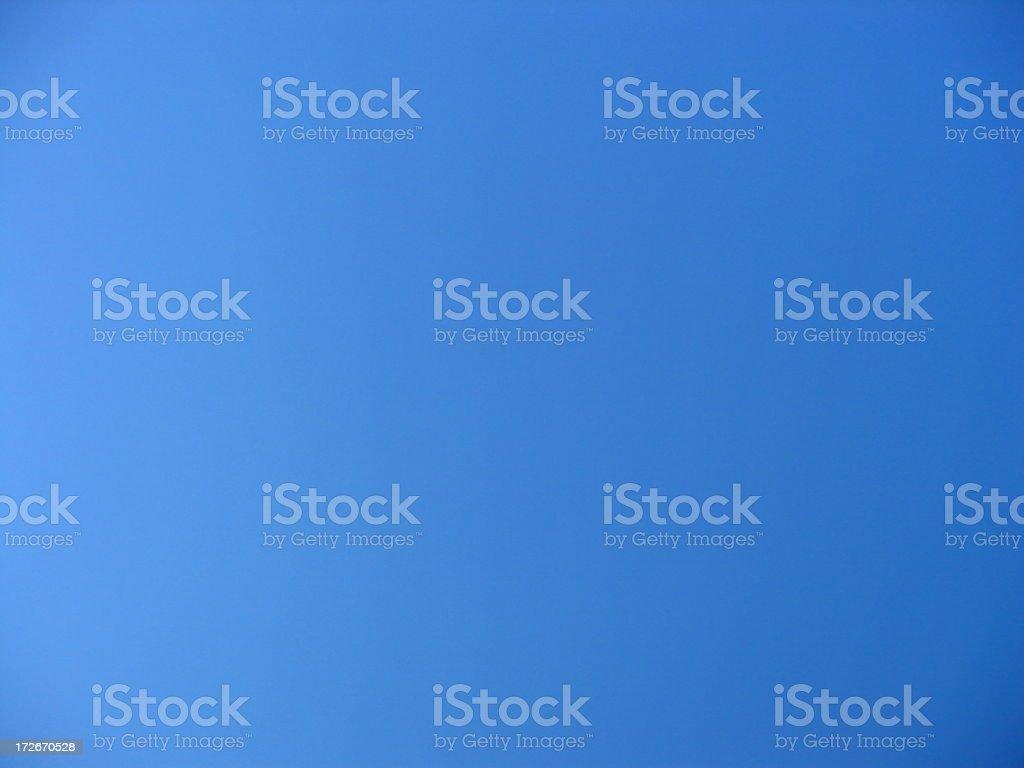 Truly Blue Sky stock photo