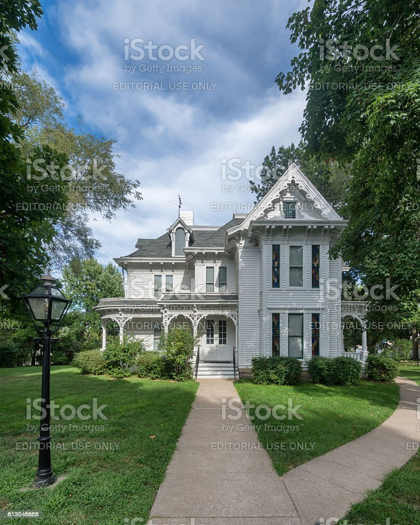 Truman Home stock photo