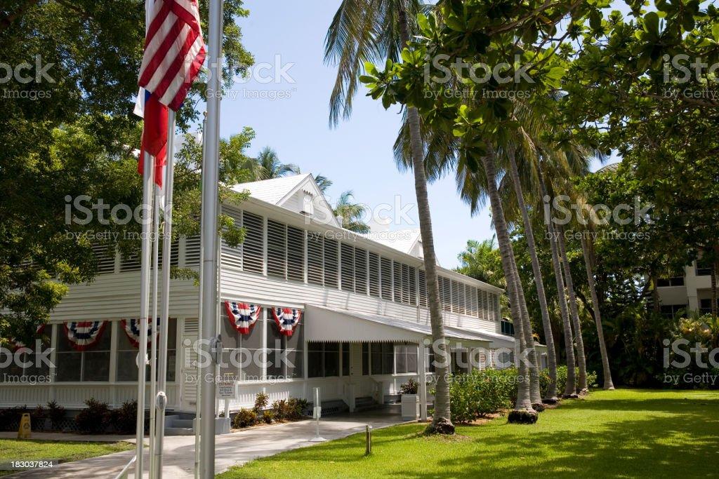 Truman House stock photo