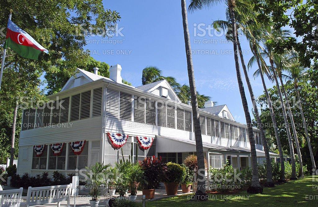 Truman Little White House stock photo