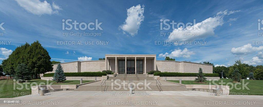 Truman Presidential Library stock photo