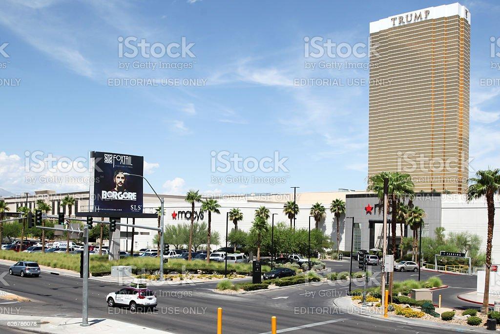 Trump hotel stock photo