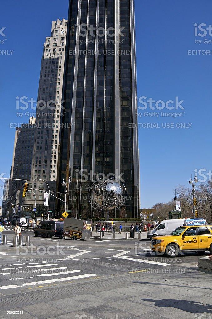 Trump International Hotel and Tower, Columbus Circle, NYC stock photo