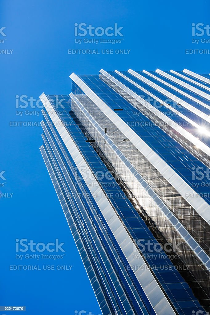 Trump International Hotel and Tower, New York City, USA stock photo