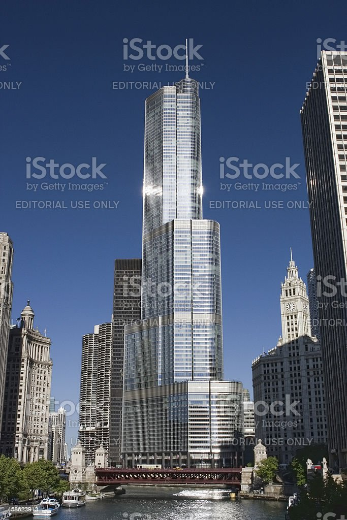 Trump International Hotel and Tower stock photo