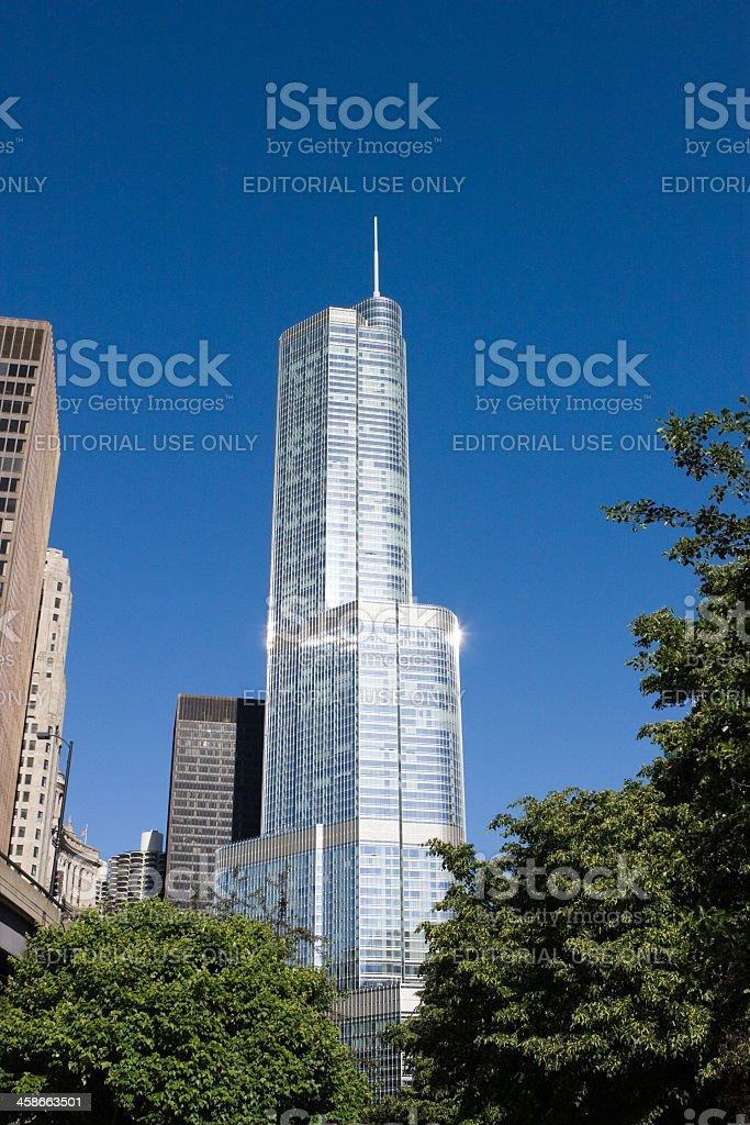 Trump International Hotel and Tower stock photo