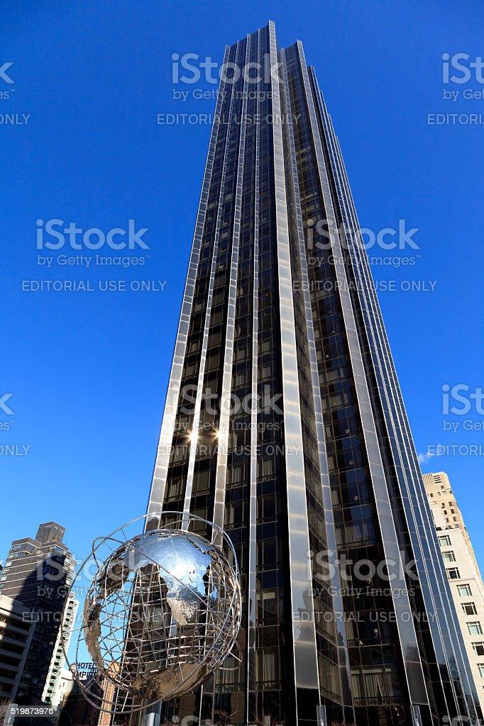 Trump International Hotel & Tower New York stock photo