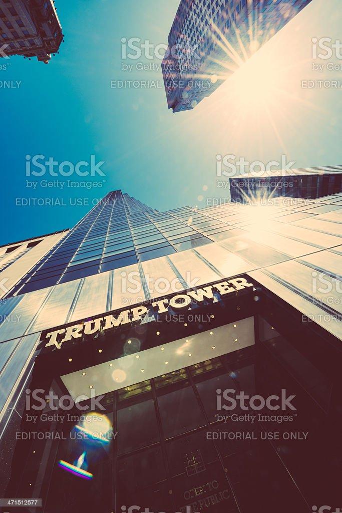 Trump Tower New York royalty-free stock photo