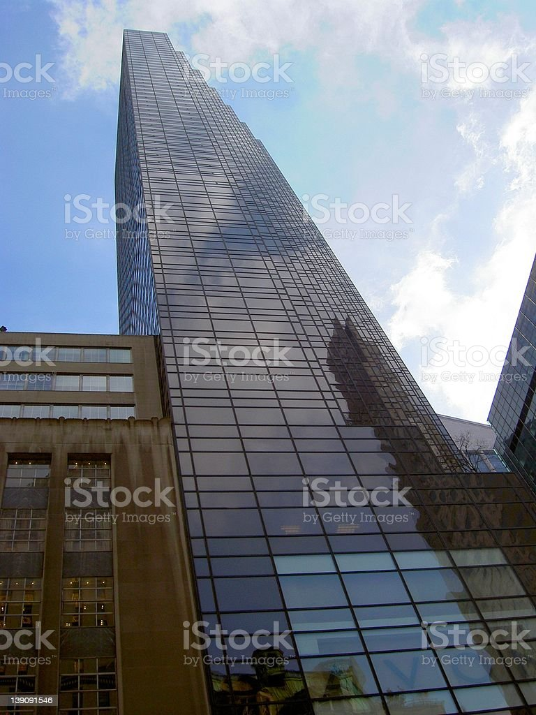 NYC Trump Tower royalty-free stock photo