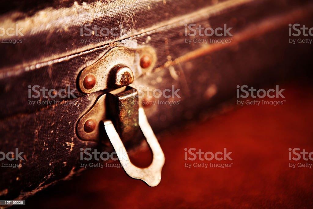 Trumpet Case Latch royalty-free stock photo