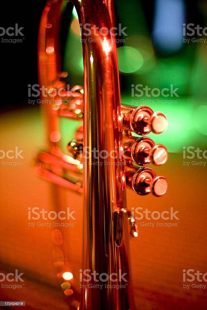Trumpet Live royalty-free stock photo