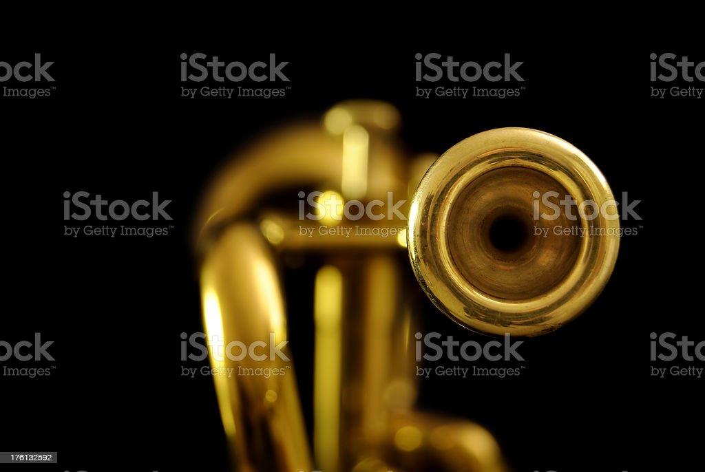 Trumpet royalty-free stock photo