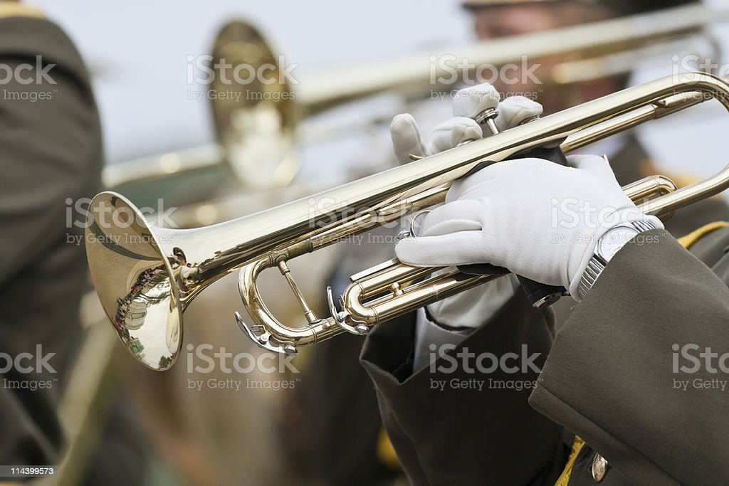 Trumpeters royalty-free stock photo