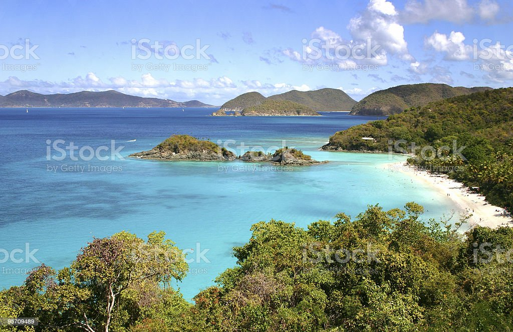 Trunk Bay stock photo