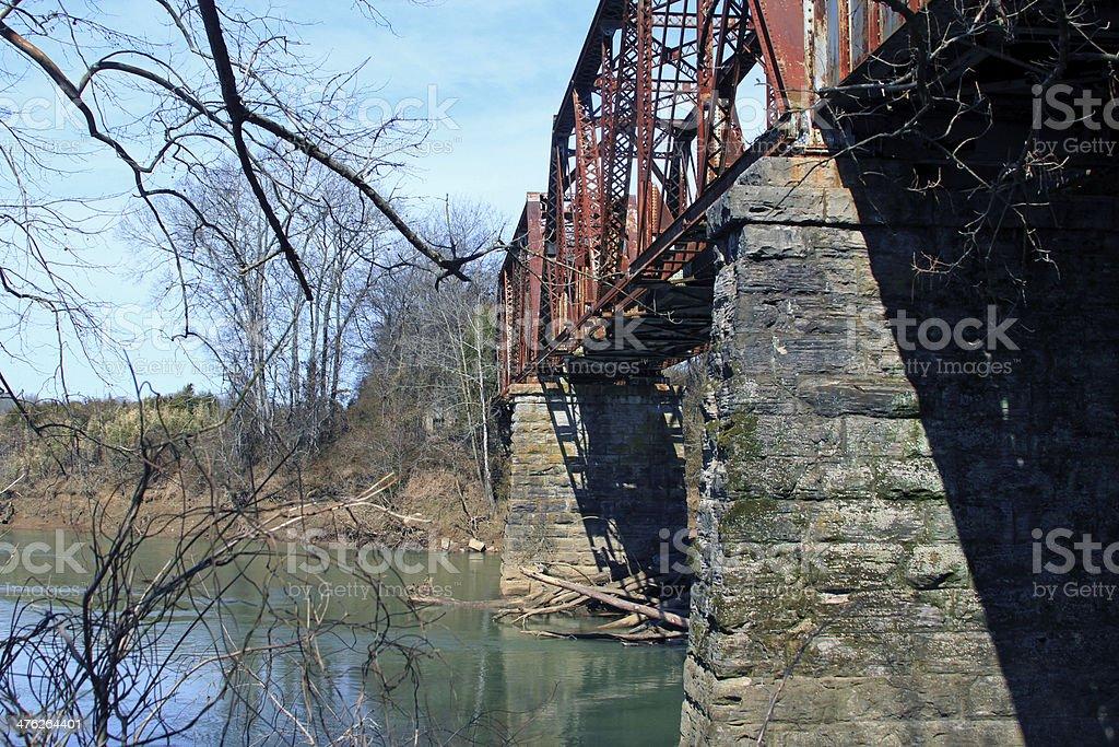 Truss Bridge 2 royalty-free stock photo