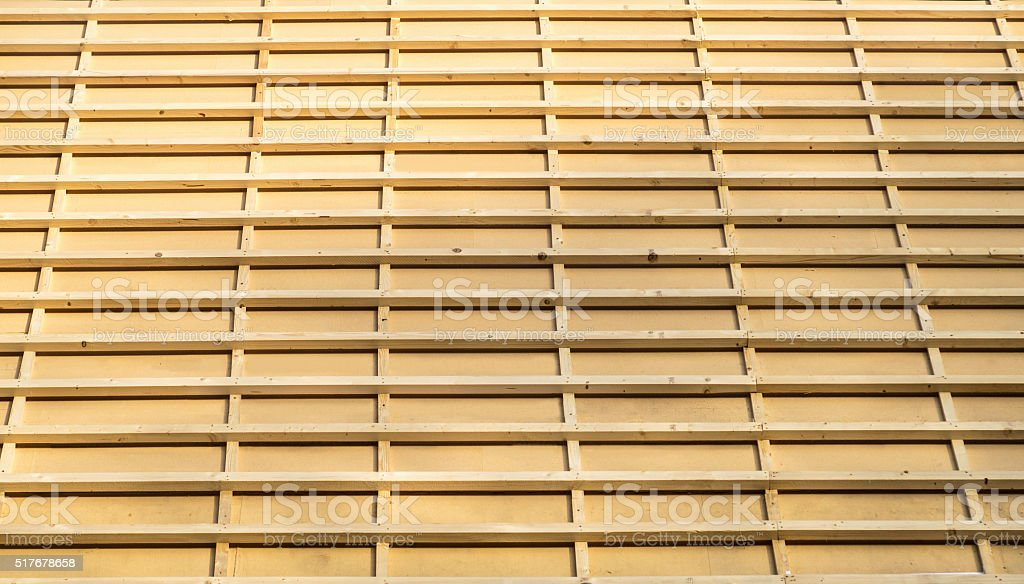 Trusses background stock photo