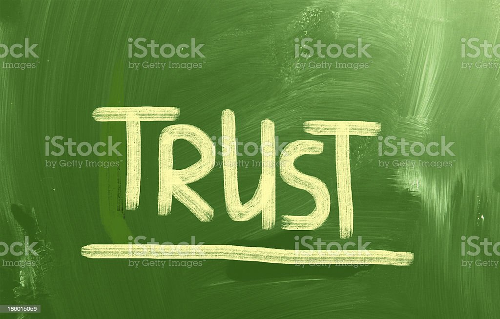 Trust Concept royalty-free stock photo