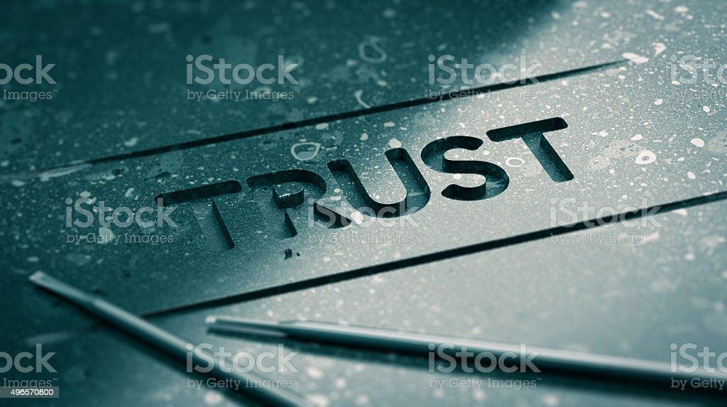 Trust Concept stock photo
