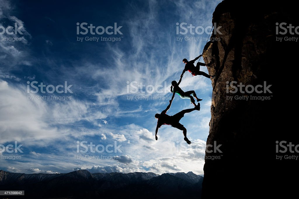 trust in each other stock photo