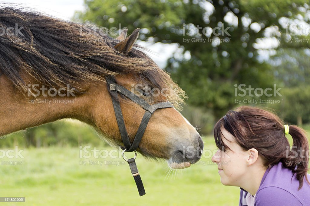 Trust me royalty-free stock photo