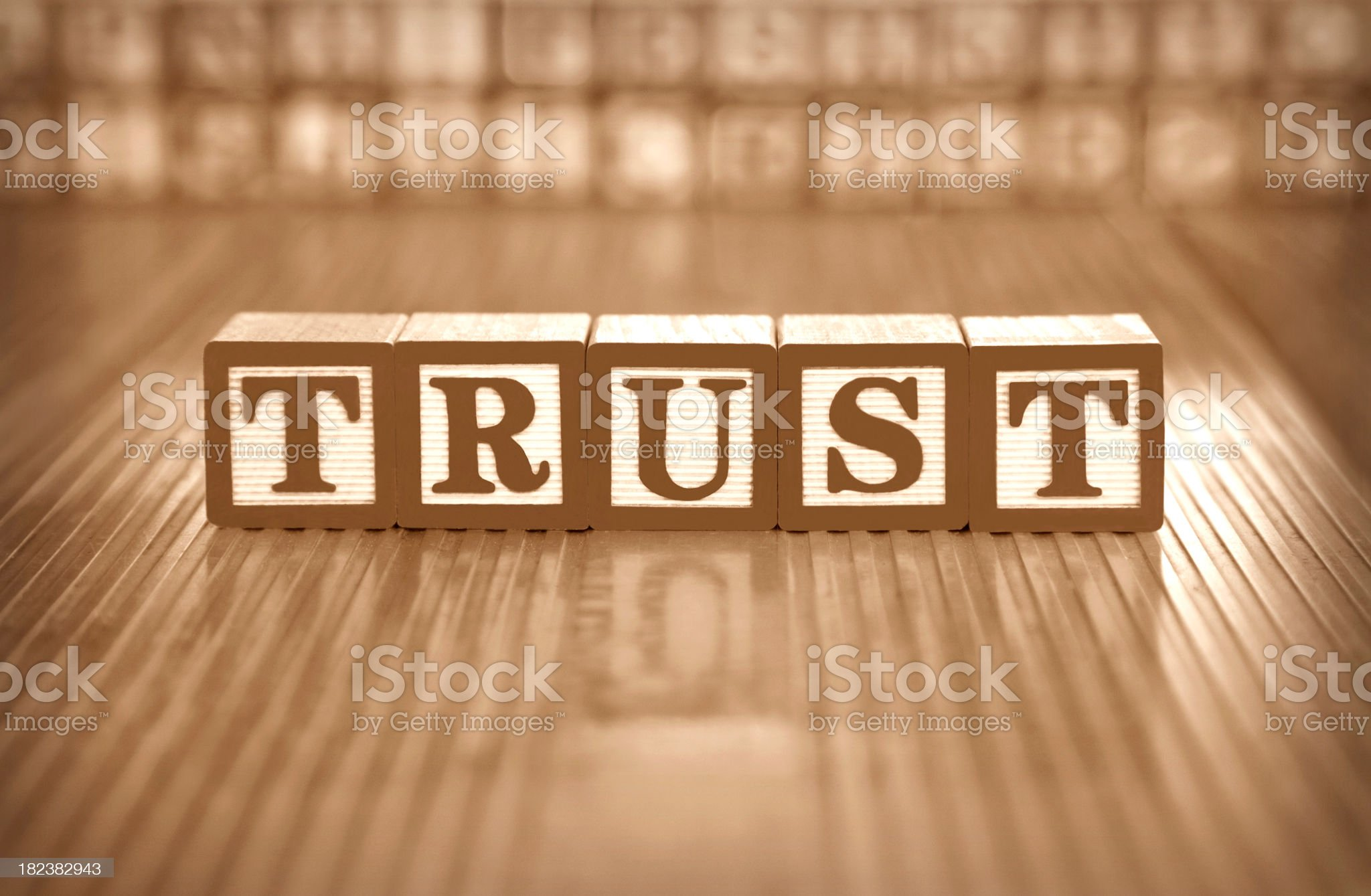trust  (#14 of series) royalty-free stock photo