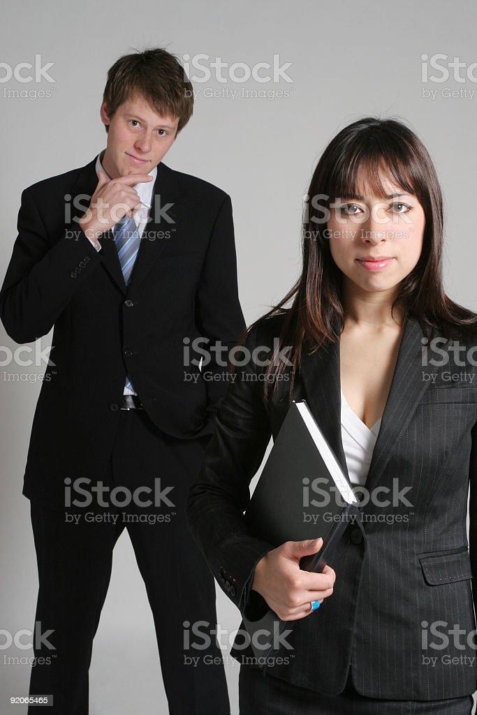 Trust us, we are professionals royalty-free stock photo