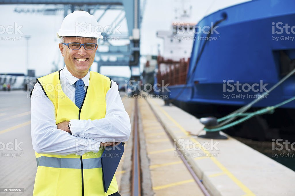Trust us with your cargo...we're the experts! stock photo