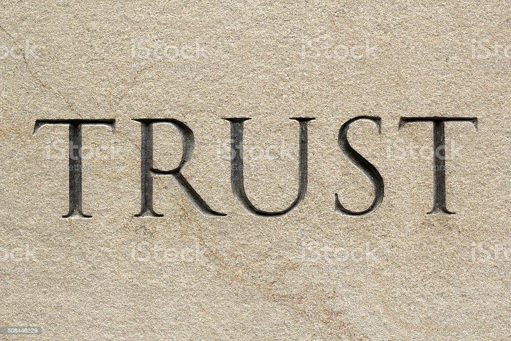 Trust01 stock photo