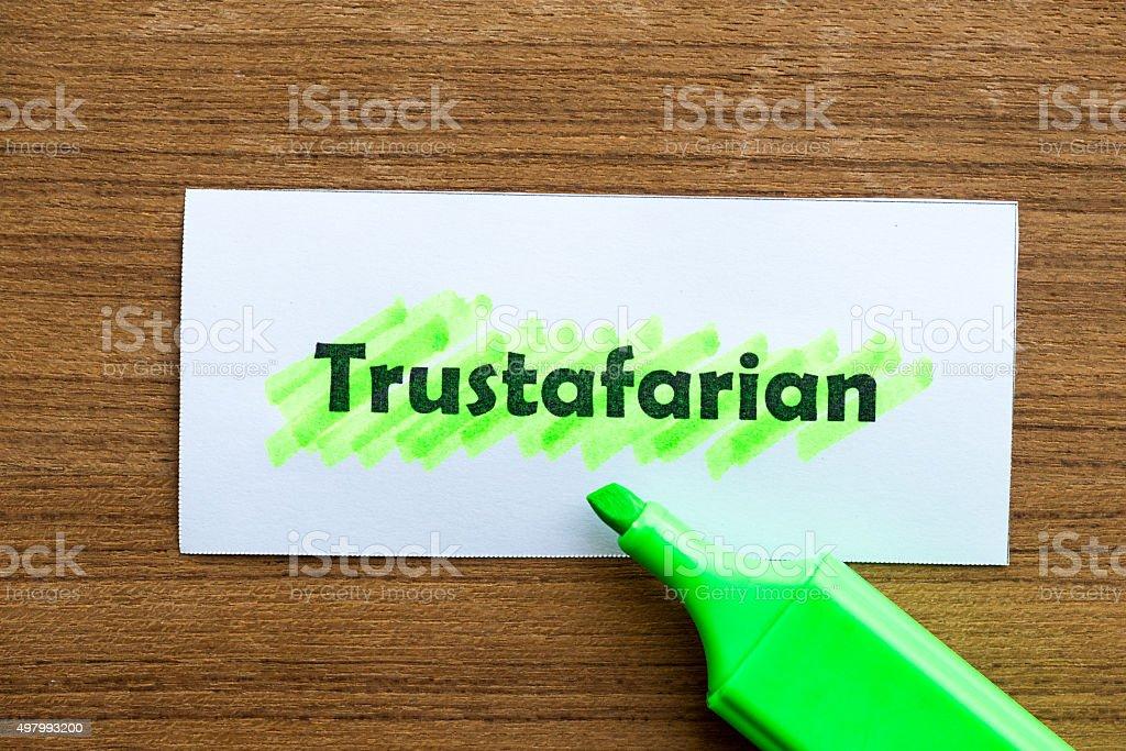 trustafarian stock photo