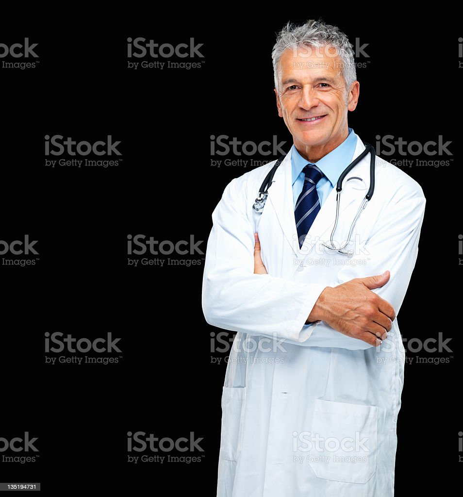 Trustworthy medical practitioner royalty-free stock photo