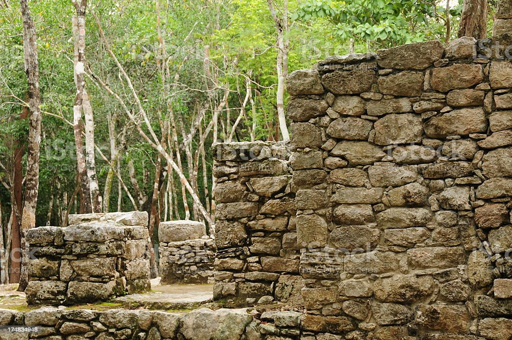 Coba, Mexico. royalty-free stock photo