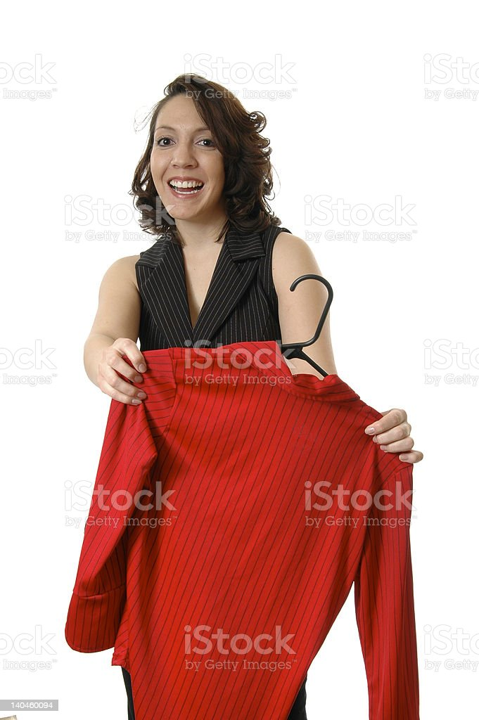 Try it On royalty-free stock photo