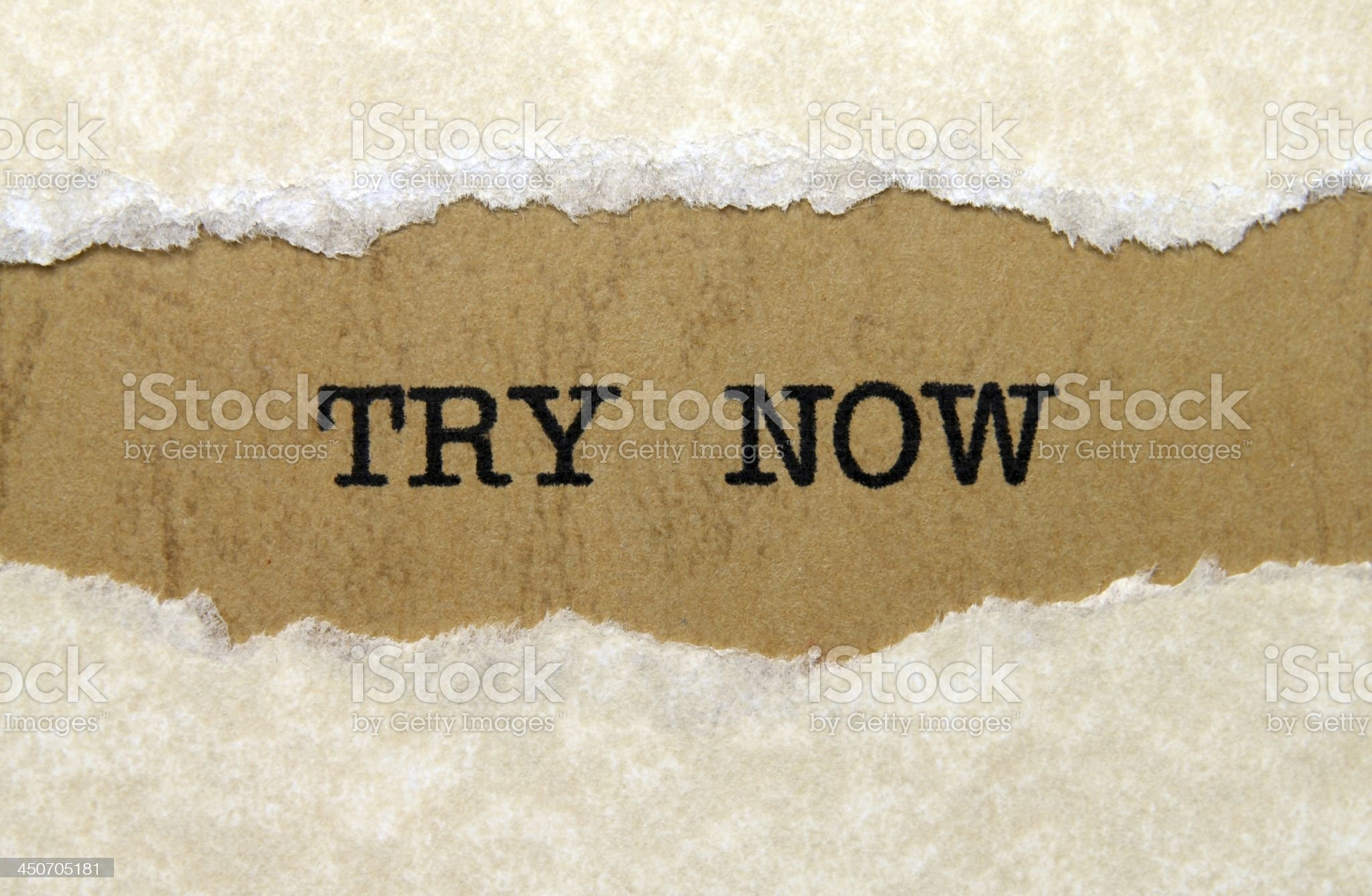 Try now royalty-free stock photo