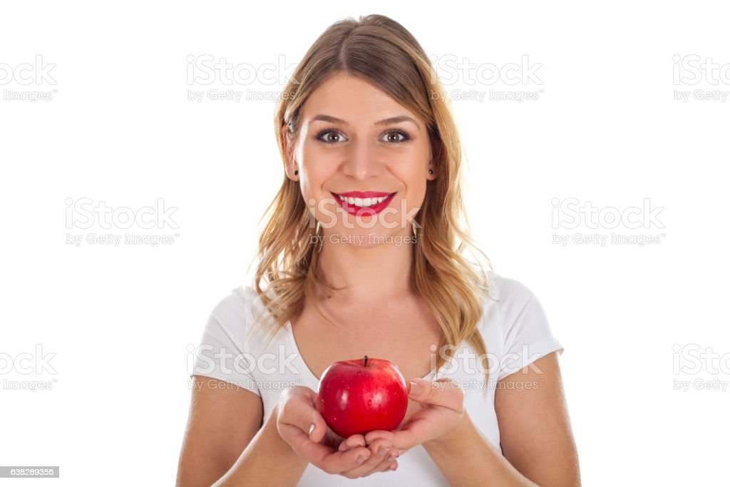 Try the new apple-diet stock photo