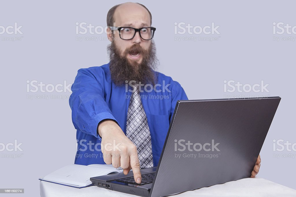 Try to do (Last chance) - Businessman (Series) royalty-free stock photo