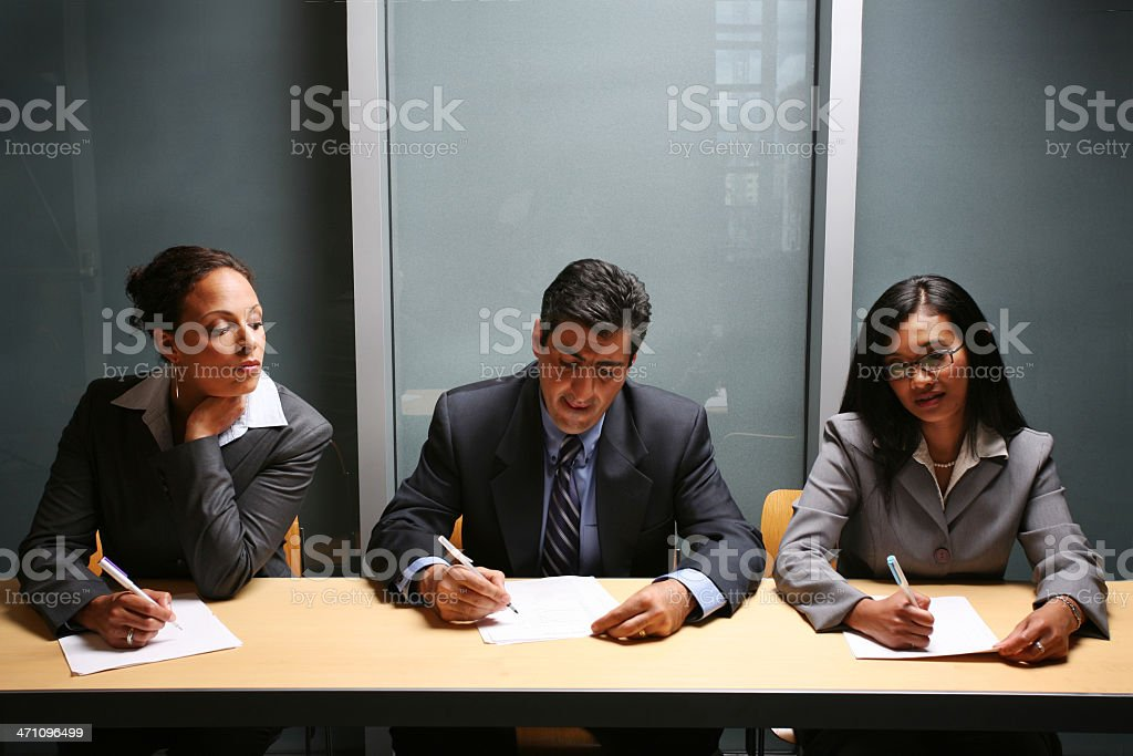 Trying to catch a glimpse royalty-free stock photo