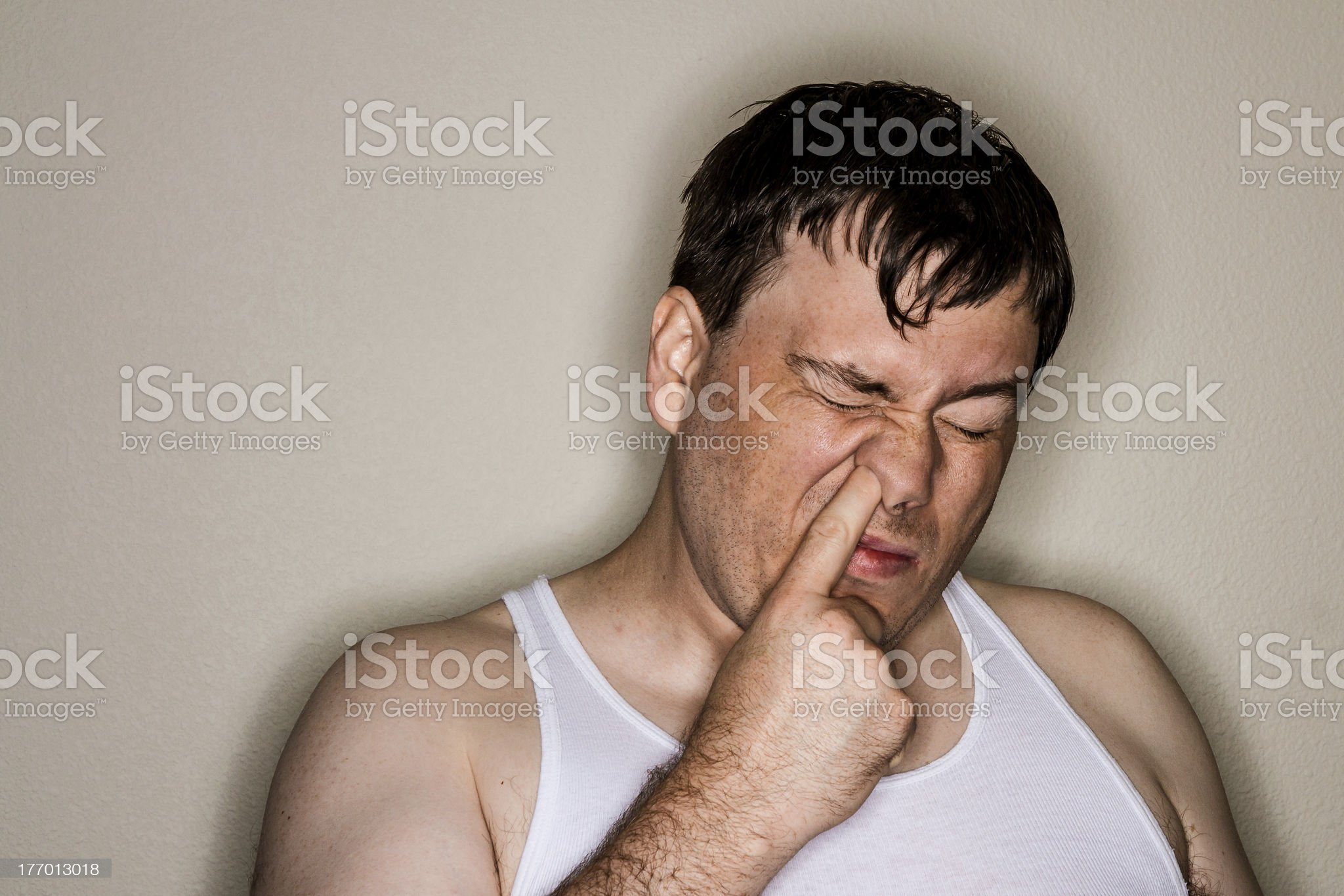 Trying to find a winner royalty-free stock photo