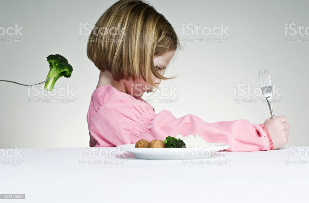Eat Your Greens stock photo