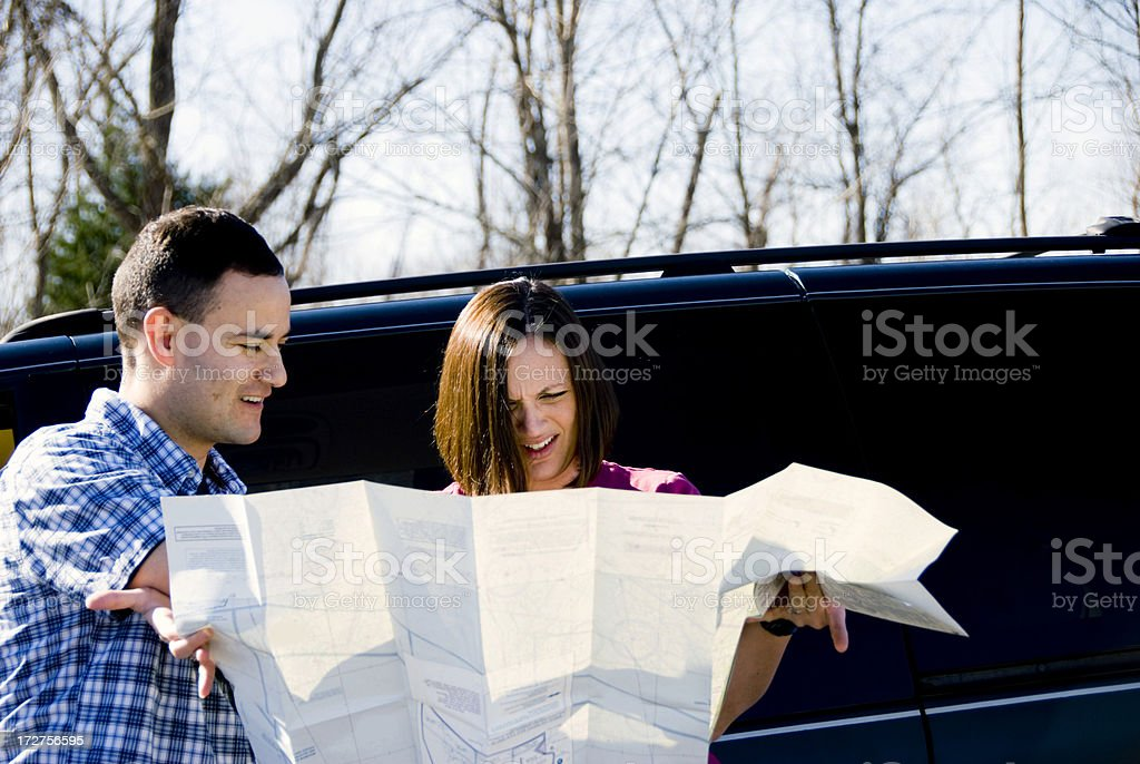 Trying to Get Home royalty-free stock photo