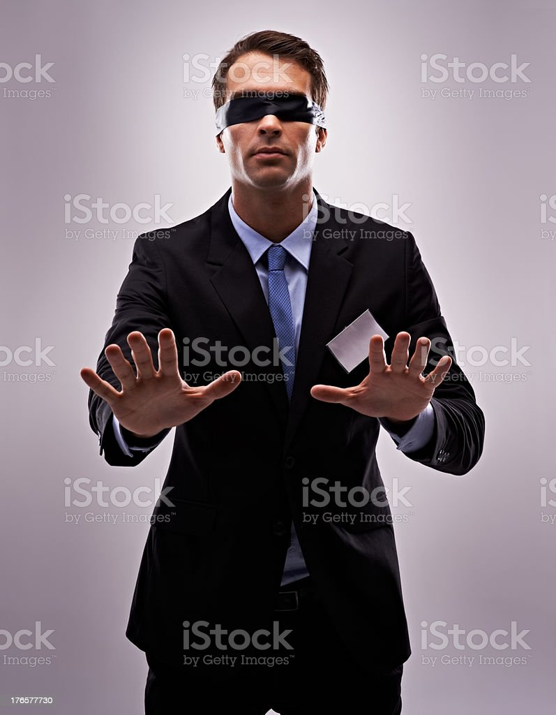 Trying to get to grips with the new job? stock photo