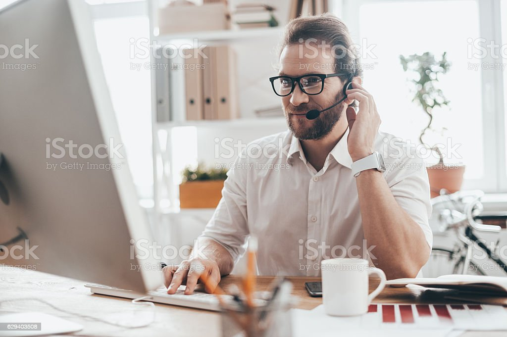 Trying to help someone. stock photo
